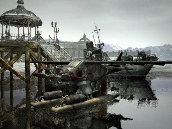 Из игры «Syberia»